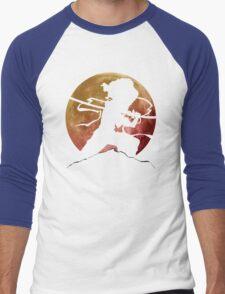 Afro Sword Slasher Men's Baseball ¾ T-Shirt