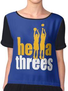 hella threes warriors Chiffon Top
