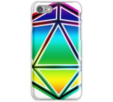 Dungeons and Dragons Pride Dice iPhone Case/Skin