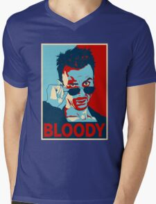 CASSIDY BLOODY Mens V-Neck T-Shirt
