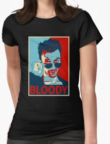 CASSIDY BLOODY Womens Fitted T-Shirt