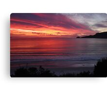 Our little patch of Paradise - Adventure Bay sunrise, Bruny Island, Tasmania Canvas Print