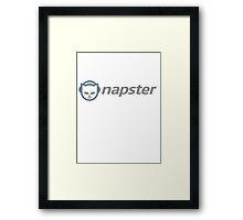 Napster Framed Print