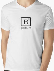 golfium R32 Mens V-Neck T-Shirt
