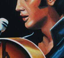 Elvis Presley 3 Painting Sticker