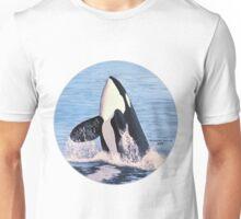 Orca Breach Unisex T-Shirt