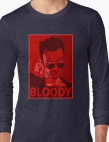 CASSIDY BLOODY RED Long Sleeve T-Shirt