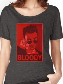 CASSIDY BLOODY RED Women's Relaxed Fit T-Shirt