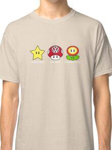 VW Power Up (white print) Classic T-Shirt