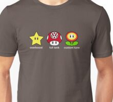 VW Power Up (white print) Unisex T-Shirt