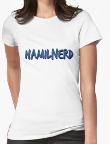 Hamilnerd Earth Womens Fitted T-Shirt