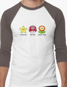 VW Power Up (black print) Men's Baseball ¾ T-Shirt