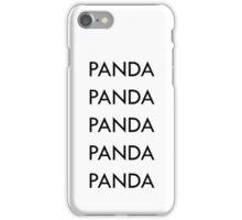 PANDA DESIIGNER iPhone Case/Skin