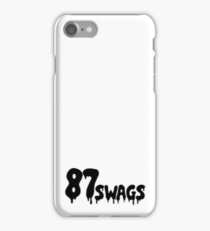 87Swags iPhone Case/Skin