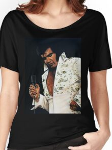 Elvis Presley Painting Women's Relaxed Fit T-Shirt