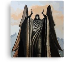 Skyrim angel statue painting Canvas Print