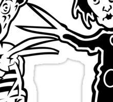 Ec & Fred Scissors Contest Sticker