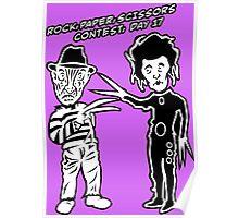 Ec & Fred Scissors Contest Poster