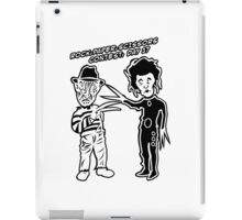 Ec & Fred Scissors Contest iPad Case/Skin