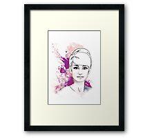 Audrey#6 Framed Print