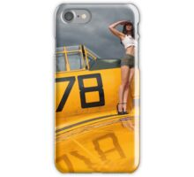 Harvard T6 Texan 078 iPhone Case/Skin