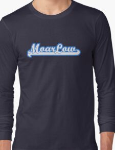 MoarLow (blue) Long Sleeve T-Shirt