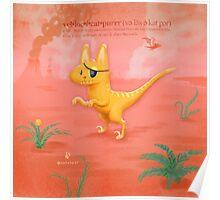 Veloci-cat-purrr Poster