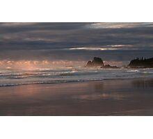 Storm over Glasshouse rocks Photographic Print