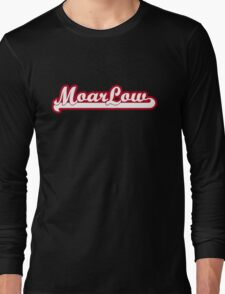 MoarLow (red) Long Sleeve T-Shirt