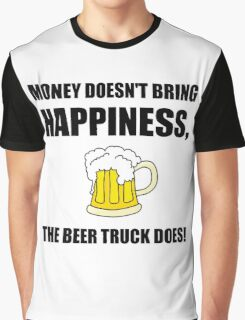 Beer Truck Happiness Graphic T-Shirt