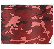 Camouflage pattern Poster