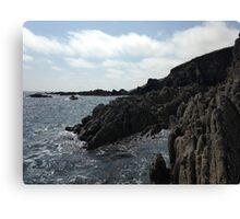 Ballycotton Rocks, Co. Cork, Ireland Canvas Print