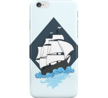 Geometry water ship iPhone Case/Skin