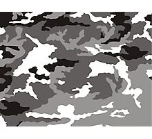 Camouflage pattern Photographic Print