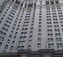 Classic Architecture, Municipal Building, Lower Manhattan, New York City York City  Sticker
