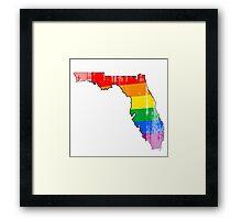 Florida Pride Framed Print