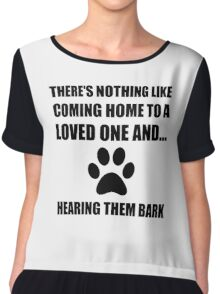 Loved One Bark Chiffon Top