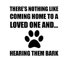 Loved One Bark Photographic Print