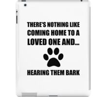 Loved One Bark iPad Case/Skin