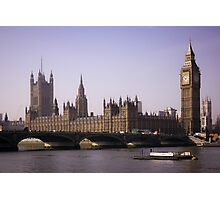 Big Ben London Photographic Print