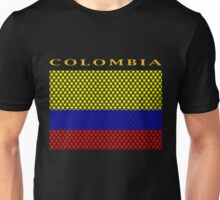 COLOMBIA, STAR Unisex T-Shirt
