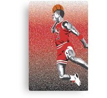 Jordan Dunk Canvas Print
