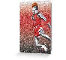 Jordan Dunk Greeting Card