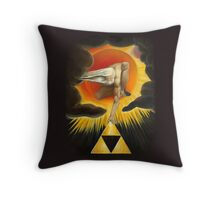 The Missing Link Throw Pillow
