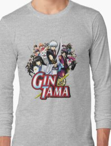 Gintama - Gintoki and Friends Anime Long Sleeve T-Shirt