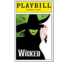Wicked Playbill Photographic Print