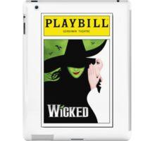 Wicked Playbill iPad Case/Skin