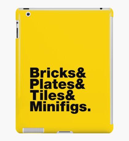 Brick Steez: Bricks&... (On Light Colors) iPad Case/Skin