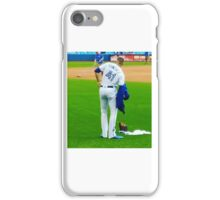 Aaron Stretching iPhone Case/Skin