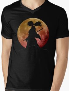 Kenshin into the Dark Mens V-Neck T-Shirt